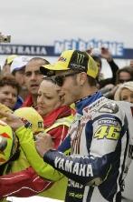 Rossi, Pit Walk, Australian  MotoGP 2009